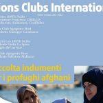 Lions e Leo Club Agrigento Host insieme per i profughi afghani