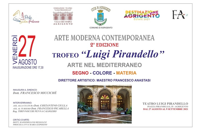 """Seconda edizione del Trofeo """"Luigi Pirandello"""" ad Agrigento - di Anna Maria Esposito"""