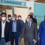 """Covid, Razza all'Hub vaccinale di Agrigento: """"Esempio per tutta la Sicilia"""""""