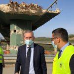 Riaperto in anticipo lo svincolo di Caltanissetta dopo la demolizione del viadotto Salso