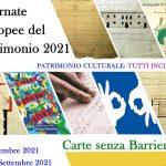 """""""Carte senza barriere"""", l'Archivio di Stato di Agrigento per le Giornate europee del Patrimonio"""