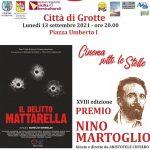 """Cinema sotto le stelle: """"Il delitto Mattarella di Aurelio Grimaldi"""""""