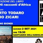 """Agrigento, si presenta il libro di Alberto Todaro e Nuccio Zicari """"HADITHI, racconti d'Africa"""""""