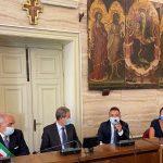 Licata, il presidente della Regione Musumeci in visita istituzionale