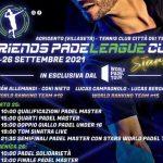 """Friends Padel League Cup Stars"": grande evento ad Agrigento"