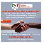 Prima Agorà Democratica PD Agrigento