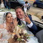 Fiori d'arancio per un orgoglio agrigentino: il soprano Grazia Sinagra sposa il baritono Vincenzo Taormina