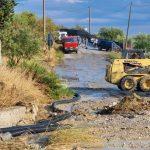 Interventi del Libero Consorzio di Agrigento su alcune strade in seguito alle recenti piogge