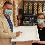 La vedova del professor Diego Lana compie una donazione in favore dell'ASP di Agrigento per esprimere gratitudine nei confronti del personale Hospice
