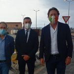 Amministrative Porto Empedocle, il candidato Sindaco Lattuca incontra l'assessore regionale Manlio Messina