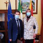 Il Commissario Vincenzo Raffo incontra il Sindaco di Villalba Maria Paola Immordino