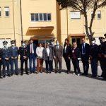 Lampedusa, visita della Commissione Affari Costituzionali della Camera dei Deputati