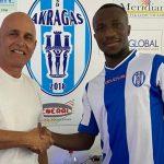 Akragas: ingaggiato il forte difensore centrale Rodrigo Yoboua
