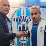 Continua la campagna di rafforzamento dell'Akragas: grande colpo in attacco con l'esterno offensivo Giuseppe Prestia