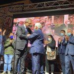 Elezioni a Favara, il Presidente Musumeci a fianco del candidato sindaco Totò Montaperto